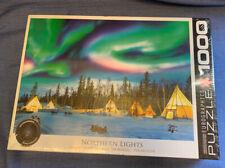 Northern Lights Yellowknife 1000 Piece Jigsaw Puzzle