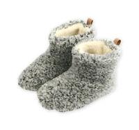 Hausschuhe, Hüttenschuhe, Pantoffeln, Lammfell, Schaffell, Schafwolle Gr.36-46