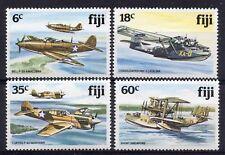 FIJI = 1981 World War 2 Aircraft, SG 624/627. MNH.