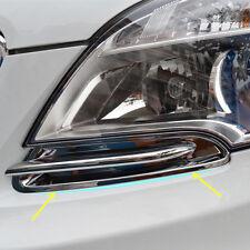 Front Head Light Trim Chrome Moulding Trim For Mokka Buick Encore 2013 2014 2015