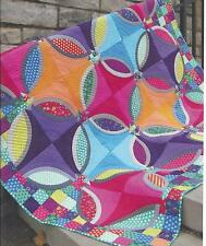 Polka Dot Bikini quilt pattern by Sharon McConnell of Color Girl quilt patterns