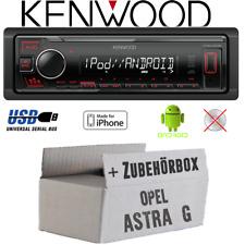 Kenwood Radio für Opel Astra G MP3 USB iPhone Android Einbauzubehör Einbauset