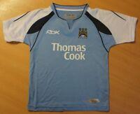 Reebok Kinder Fußball T-Shirt Thomas Cook  M.C.F.C. NEU blau PLAY DRY