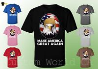 Make America Great Again T-Shirt Eagle President Donald Trump Unisex Tee