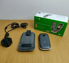 Doro PhoneEasy 611 Mobile Phone + Battery Boxed Tesco Network Graphite Colour