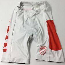 "K-Swiss Men's 8"" Japan Tri Cycling Shorts 100572 Red White Size S"