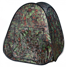 Hunting Adventures Pop Up Tent Blind Child Kids Toys Camouflage Outdoor Play Hut