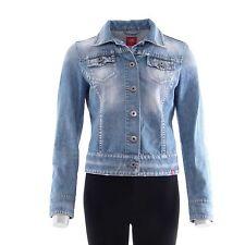 Esprit Damen-Jeansjacken aus Denim mit Knöpfen