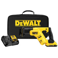 DEWALT Cordless Li-Ion Compact Reciprocating Saw Kit DCS387D1R Reconditioned