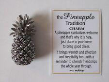 aa THE PINEAPPLE TRADITION miniature Pocket FIGURINE CHARM housewarming Ganz