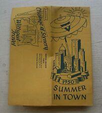 Central Branch YWCA Activites Summer Brochure 1950