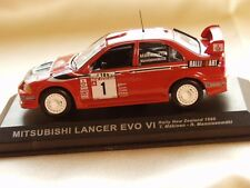 MITSUBISHI LANCER 6 EVO WRC DIECAST RALLY CAR WORK IXO