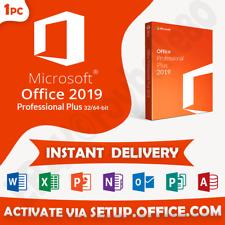 Office 2019 Professional/Pro Plus 32/64-bit🔥100% Genuine Key🔥