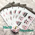 100 Designer Printed Poly Mailers 10X13 Shipping Envelopes Bags OWLS