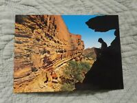 Kings Canyon, Northern Territory, Australia - Vintage Postcard