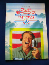 a273.1988 GOOD MORNING, VIETNAM Japan PROGRAM Robin Williams Forest Whitaker VER