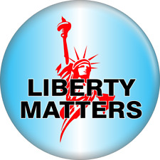 "Magnet - Liberty Matters Statue USA American Political Gift 2.25"" Fridge 31168"