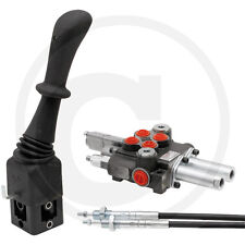 Hydraulik Steuergerät Frontlader 2xdw 40 l/min Schwimmstellung Deutz IHC Case