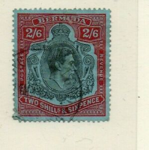 A very nice Bermuda George VI 2/-6d issue