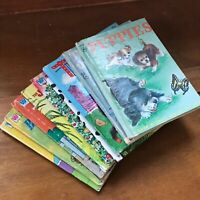 Vintage Lot of Tell-A-Tale JUNIOR ELF Small Hardcover Books – DONNY & MARIE Barb