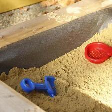 NOOR® Sandkastenvlies 2x2 m Unterlage für Sandkasten Sandschutzfolie