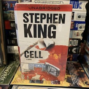 Cell by Stephen King 2006 Audio Cassette, Unabridged edition