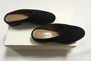 Alumnae Womens Shoes Size36 Calf Suede Black New