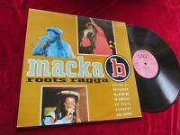 Macka B – Roots Ragga     Ariwa UK 1992    Vinyl/Cover: very good