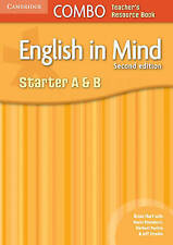 NEW English in Mind Starter A and B Combo Teacher's Resource Book by Brian Hart