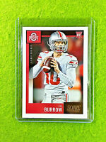 JOE BURROW ROOKIE CARD JERSEY #10 OHIO STATE RC LSU 2020 Panini Score BENGALS SP