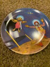 1985 McDonalds Plastic Plate - Ronald and Birdie in Space - Vintage
