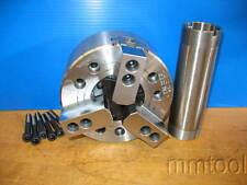 "TONFAU HARDINGE TF3X-06 POWER CHUCK 6-7/8"" 3 JAW 6000 RPM CNC LATHE OPEN CENTER"