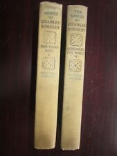 The Works of Charles Kingsley 1899 Bideford Edition Books I II  Antique Book Set
