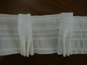 Gardinenband Königsflalte 2,5:1/ 8 cm breit