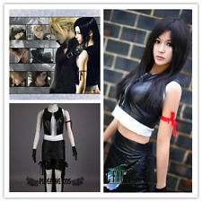 FF Final Fantasy 7 Cosplay Costumes Tifa.Lockhart clothing suit * Custom-made