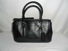 CUTE! Small Vintage COACH Legacy Demi Bag #9421 Black LEATHER w/Silver PURSE