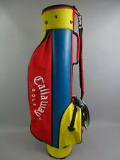 "Childrens Callaway 31"" Golf bag Funky Multi coloured Junior Size, Single Strap"