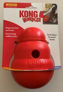Kong Wobbler Treat Dispensing Toy - 2 Sizes