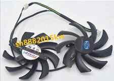 1 pcs For Firstd FD7010H12S 75mm Video Card Dual Fan HD6950 HD7790 HD7850  j0524