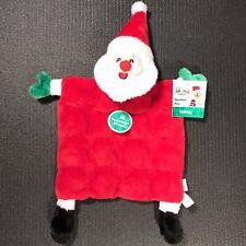 Outward Hound Santa Claus Dog Toy Christmas & Winter Holiday Squeaker Matz Mats