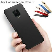 For Xiaomi Redmi Note 9S 9 Pro Shockproof Hard PC Ultra Slim Matte Cover Case
