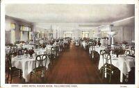 Yellowstone Park, WYOMING - Lake Hotel - Dining Room