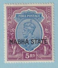 INDIA NABHA 59  MINT NEVER HINGED OG ** NO FAULTS  VERY FINE