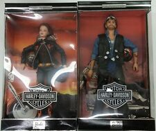 Harley-Davidson Barbie 29207 & Ken #2 SET  Actual Photos!! New in Box!!!