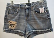 JESSICA SIMPSON holly holly  DENIM SHORTS SZ 25*NEW* WITH TAG