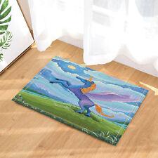 Door Mat Bathroom Rug Bedroom Carpet Bath Mats kids Cartoon unicorn pattern