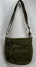 Small Mossy Green Bucket Style Bag Handbag Purse