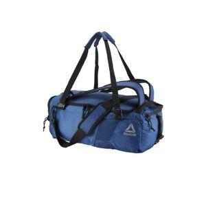 Reebok (Bunker Blue) Active Enhanced Convertible Grip Duffle Bag CZ9811