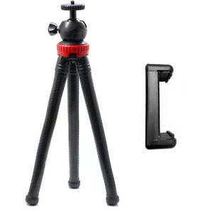 Camera Tripod Stand Holder Mount Phone Tripods For iPhone Samsung DSLR w/ Clip