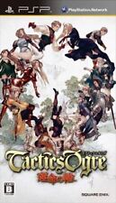 Used PSP Tactics Ogre Wheel of Fate Unmei no Wa SONY PLAYSTATION JAPAN IMPORT
